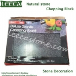 Perfect chop granite chopping block
