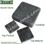 Chinese crushed basalt cube paver
