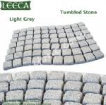 Wavy carpet stone cobbles mesh paver