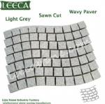 Wave granite carpet stone grey paver