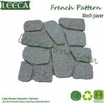 Crazy paving slabs carpet stone