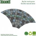 Granite mesh paver garden path tiles