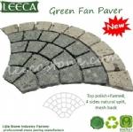 Peacock porphyry stone carpet paver