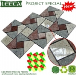 Porphyry decor paver glow paving stone