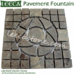 Stone art paving fountain stone