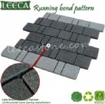 Running bond pattern stone cubes mesh