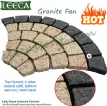 Sunset yellow granite fan exterior tiles