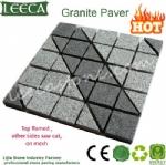 Landscape granite mesh pattern paver