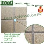 Landscape stepping stone granite paver