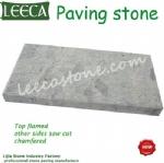 Exterior porphyry floor stone garden paving