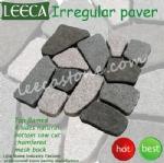 Crazy carpet stones random paver