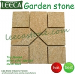 Ourdoor natural paving stone pattern paver