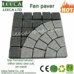 Outdoor paving tiles pattern fan paver, Dubai paving