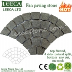 U.A.E flamed fan cobbles courtyard decorative paver
