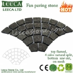 Yard decorative paver gabbro stone paving