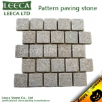 Light-grey-split-square-pattern-granite-paving-stone