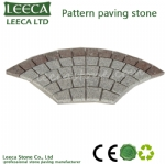 Fan-square-grey-granite-flamed-paving-stone