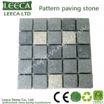 Hot selling square granite pattern stone pavings