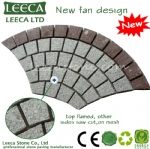 14th Xiamen Stone Fair fan pattern paving stone H1
