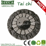 Supreme pole tai chi decorative garden stone