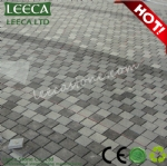 Landscaping large paver stone