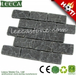 Natural split tumbled antique style paving stone