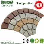 Euro fan fired flamed mesh paving stone