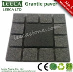 China yellow granite interlock pavers