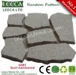 Crazy pattern granite cube stone