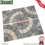 Landscape design granite paving stone pattern LEECA Dubai