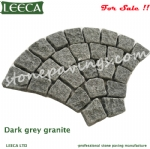 Granite cobblestone pavers mesh cobblestone pavers