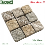 32x32cm square shape granite pavers for sale