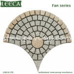 Saudi Arabia stone pavings mesh back pavers